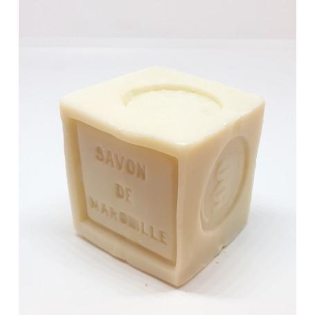Savon de Marseille blanc raffiné 100g, huiles végétales, Le Serail Le Serail de Marseille à Paris chez Soap and the City, sav...