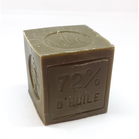 Savon de Marseille raffiné 100g, 72% huile d'olive, Le Serail Le Serail de Marseille à Paris chez Soap and the City, savons, ...