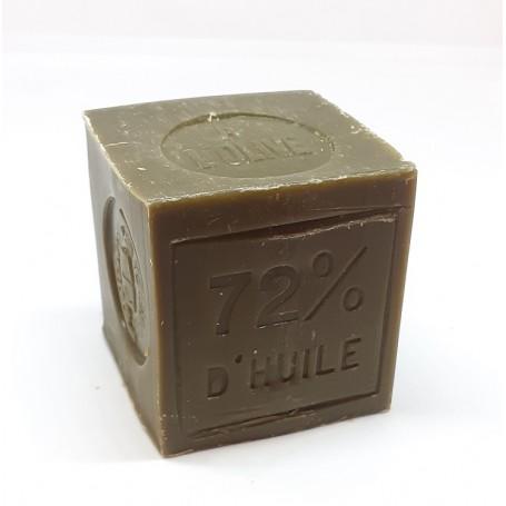 Savon de Marseille raffiné 100g, 72% huile d'olive, Le Serail