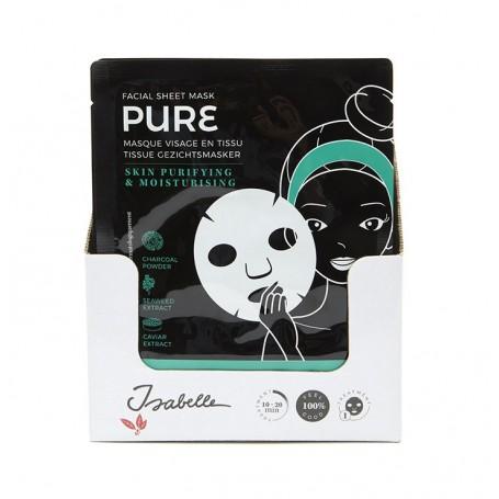 Masque visage tissu, Pure De Laurier à Paris chez Soap and the City, savons, bougies, parfums, encens et peluches