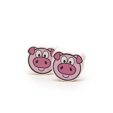 Effervescent pour le bain, Cochon rose