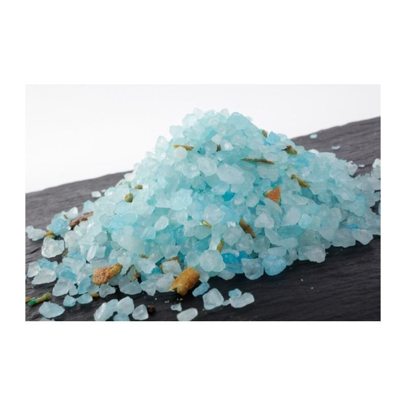 Bleuet Bergamotte, Sel de bain