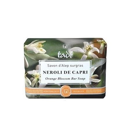 Savon d'Alep Oranger, Néroli di Capri Tadé à Paris chez Soap and the City, savons, bougies, parfums, encens et peluches