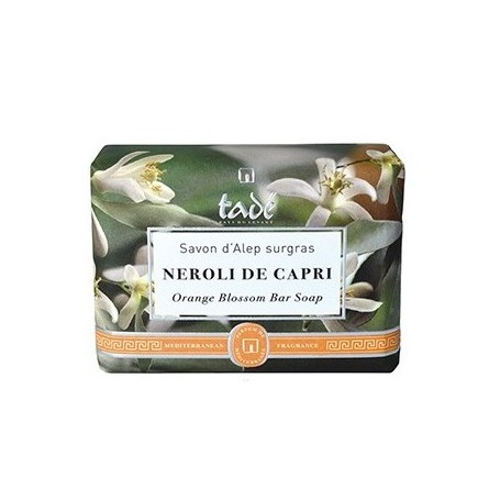 Savon d'Alep Oranger, Néroli di Capri from Tadé in Paris @ Soap and the City, soaps, candles, incens, perfumes and teddies