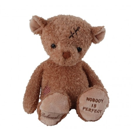 Peluche ours, Nobody's Perfect from Bukowski in Paris @ Soap and the City, soaps, candles, incens, perfumes and teddies