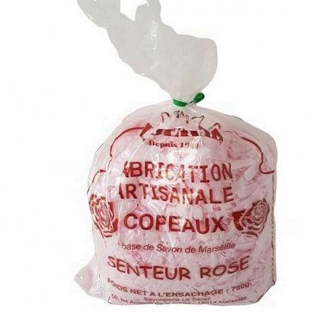 Copeaux savon de Marseille, Rose 750G, pour lessive