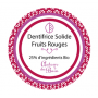 Dentifrice solide, Fruits rouges, 30ml Autour du Bain à Paris chez Soap and the City, savons, bougies, parfums, encens et pel...