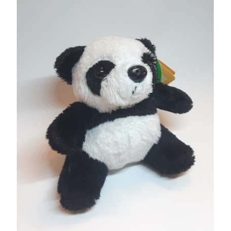 Peluche panda van Living Nature in Parijs bij Soap and the City, zepen, parfums, wierook, kaarzen en knuffels