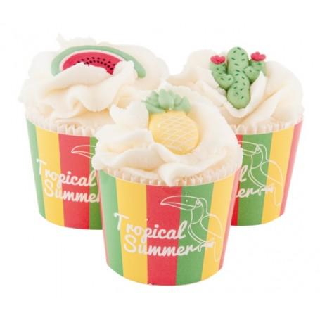 Cupcake de bain Timbale, Monoi