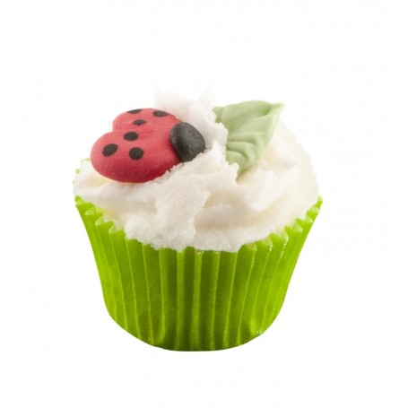 Mini cupcake, Coccinelle Autour du Bain à Paris chez Soap and the City, savons, bougies, parfums, encens et peluches