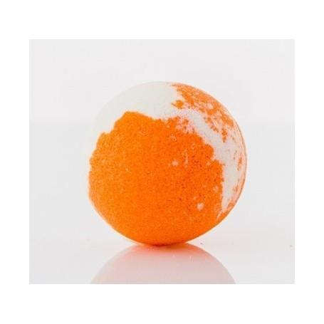Boule effervescente Orange Savons et Bougies à Paris chez Soap and the City, savons, bougies, parfums, encens et peluches