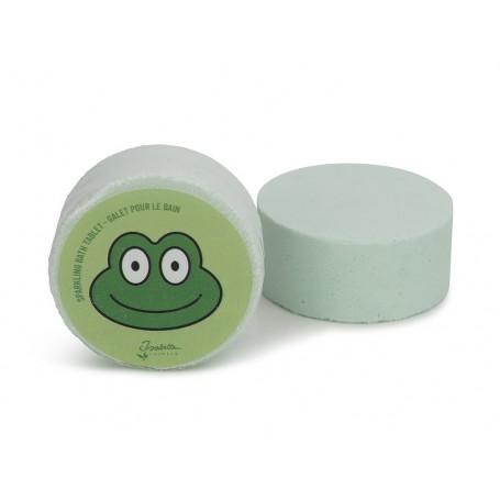 Effervescent pour le bain, Grenouille verte