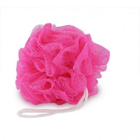 Eponge fleur de douche, rose