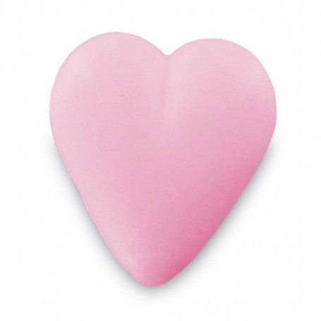 Savon coeur rose