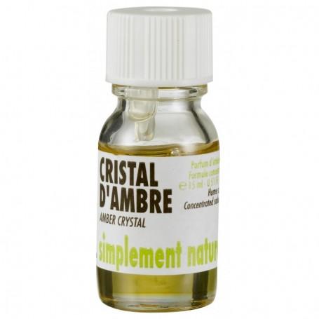Extrait de parfum, Cirstal d'Ambre
