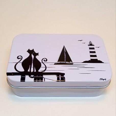 Soap box, bateau noir