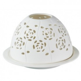ACCESSOIRES Dome photophore Roses made by Ambiance des Alpes