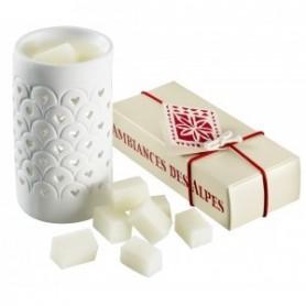 Bougies parfumées Dés parfumées Edelweiss made by Ambiance des Alpes