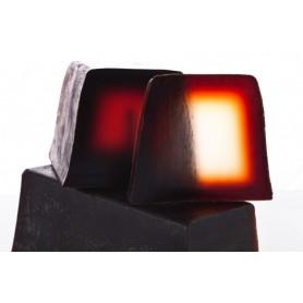 Handgesneden zepen Ambre Musk, cut soap made by Autour du Bain