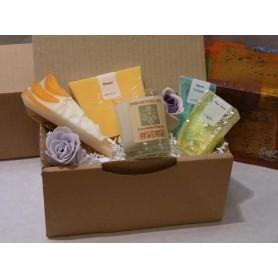 CADEAUX Panier cadeau made by Autour du Bain