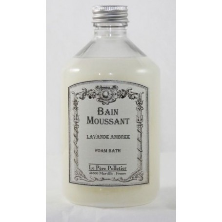 Bain moussant, Lavande ambrée Le Père Pelletier à Paris chez Soap and the City, savons, bougies, parfums, encens et peluches
