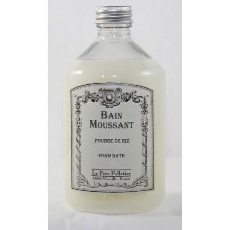 Bain moussant, Poudre de riz Le Père Pelletier à Paris chez Soap and the City, savons, bougies, parfums, encens et peluches