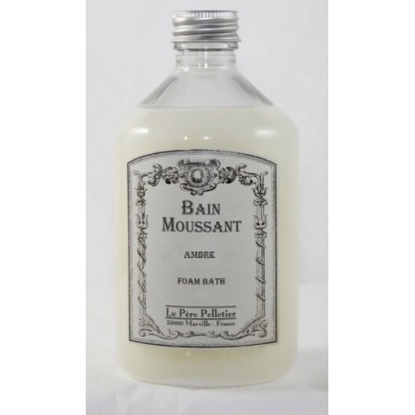 Bain moussant, Ambre Le Père Pelletier à Paris chez Soap and the City, savons, bougies, parfums, encens et peluches