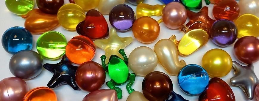 Boules et perles de bain