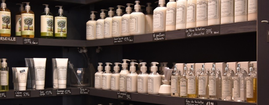 Body care products - soap and the city