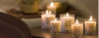 Bougies parfumées - Ambiance des Alpes, Odyssee et Sens, Le Pere Pelletier, Bomb