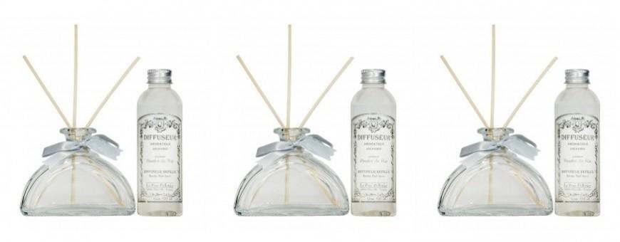 Bouquets parfumés, diffuseur capilaire, Ambiance des Alpes et Le Pere Pelletier