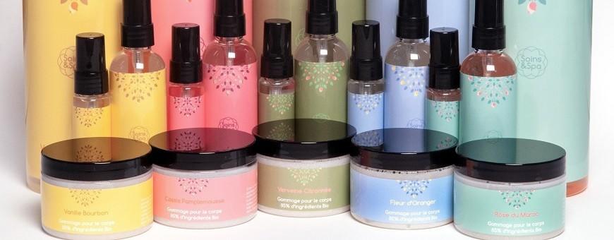 Crèmes corporelles et huiles de massage