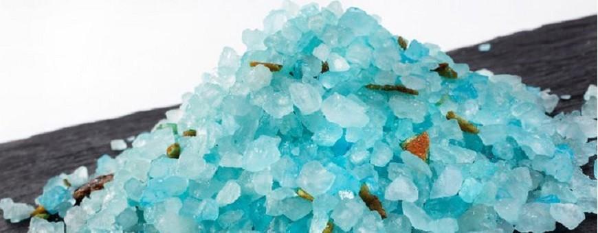 Bath salts -and oils