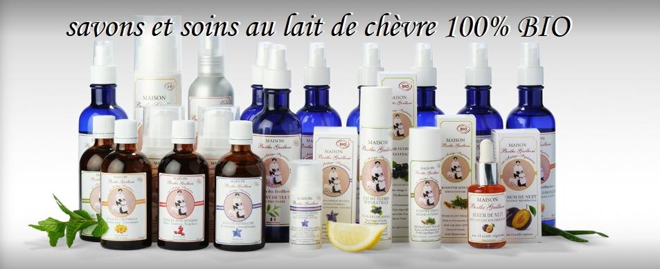 savons et soins bio au lait de chèvre, Berthe Guilhem